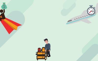 Lassen Sie nicht zu, dass Ihr Flug zum Albtraum wird!